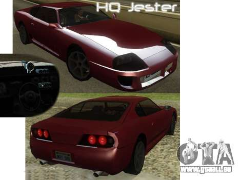 New Jester HQ pour GTA San Andreas