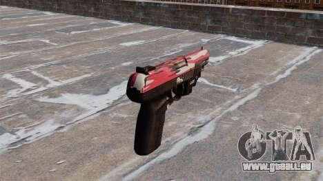 Pistole FN Five seveN LAM Red urban für GTA 4 Sekunden Bildschirm