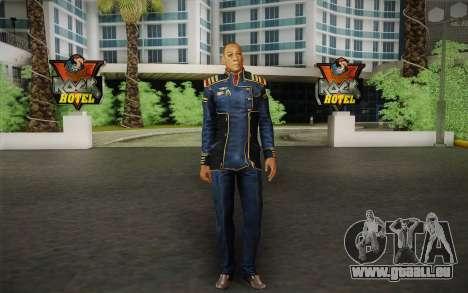 Kapitän David Anderson из Mass Effect-Serie für GTA San Andreas