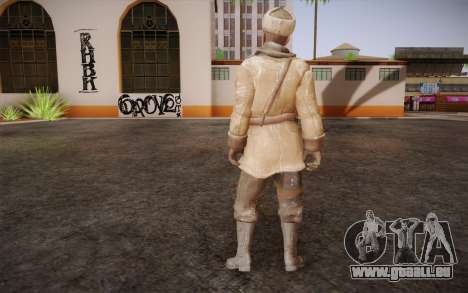 Viktor Reznov из CoD: Black Ops für GTA San Andreas zweiten Screenshot