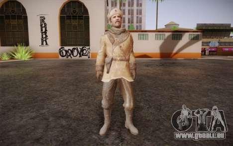 Viktor Reznov из CoD: Black Ops für GTA San Andreas