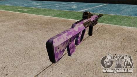Автомат Steyr AUG A3 Optique Violet Camo pour GTA 4 secondes d'écran