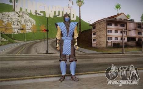 Classic Sub Zero из MK9 DLC für GTA San Andreas