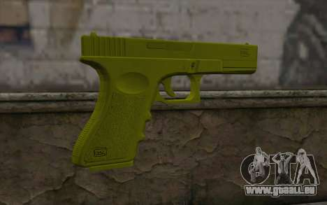 Golden Glock 18C pour GTA San Andreas deuxième écran