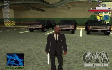 C-HUD SampHack pour GTA San Andreas