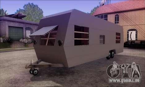 Der Wohnwagen Anhänger für GTA San Andreas