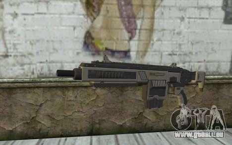 NS-11A Assault Rifle from Planetside 2 für GTA San Andreas
