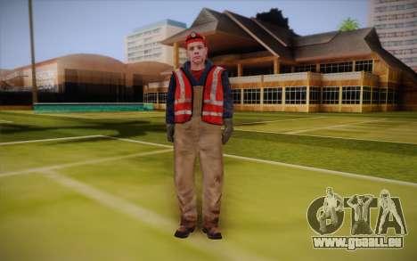 Route travailleur pour GTA San Andreas