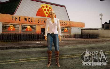 Sarah from DoA pour GTA San Andreas