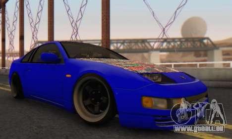 Nissan 300ZX Fairlady pour GTA San Andreas vue de droite