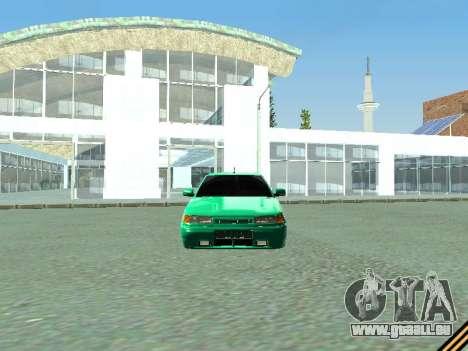 VAZ 2110 für GTA San Andreas Rückansicht