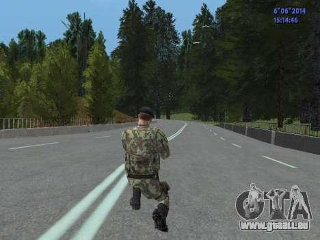 USSR Special Forces pour GTA San Andreas septième écran