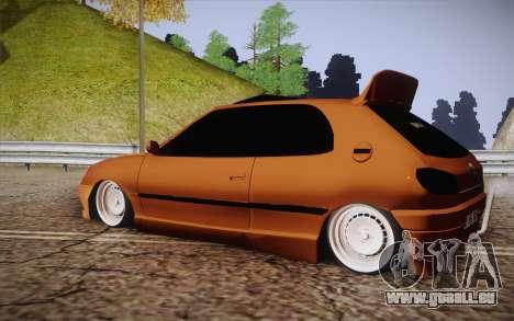Peugeot 306 GTI 41 NS 681 pour GTA San Andreas laissé vue