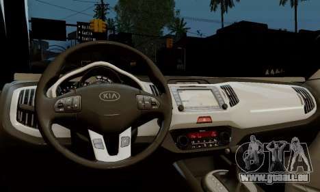 Kia Optima Stock pour GTA San Andreas vue de droite