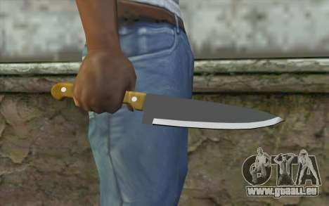 Küchenmesser für GTA San Andreas dritten Screenshot