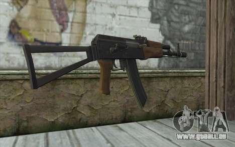 AK74 Rifle pour GTA San Andreas deuxième écran