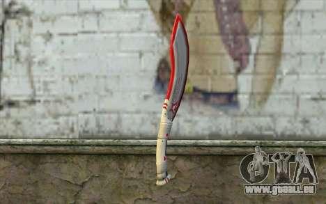 Fangblade Garena Star League from Point Blank pour GTA San Andreas deuxième écran