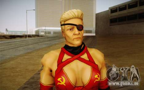 Mutter Russland из Kick Ass 2 für GTA San Andreas dritten Screenshot