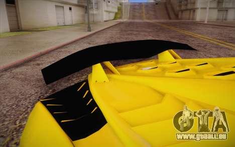 Zentorno из GTA 5 pour GTA San Andreas vue de droite