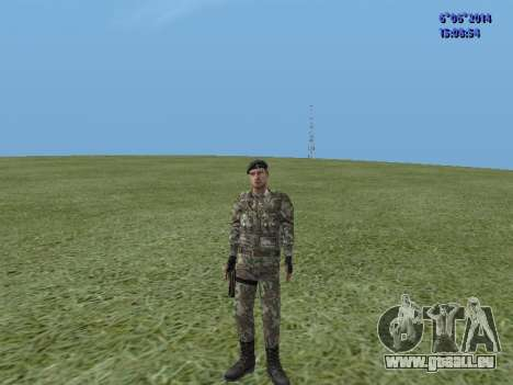 USSR Special Forces pour GTA San Andreas