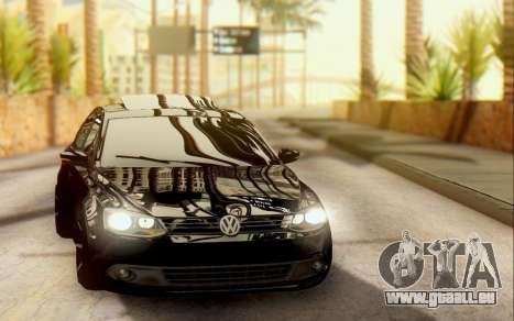 Volkswagen Jetta 1.4 Comfortline МТ pour GTA San Andreas laissé vue