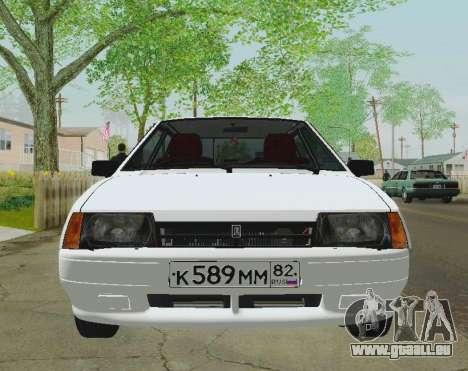 VAZ-21093 pour GTA San Andreas vue arrière