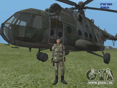 USSR Special Forces für GTA San Andreas dritten Screenshot