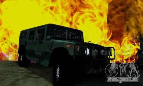 Hummer H1 Alpha für GTA San Andreas rechten Ansicht