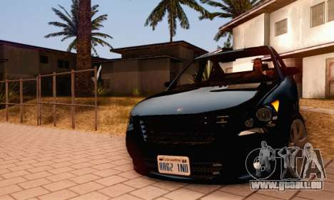Karin Asterope V1.0 pour GTA San Andreas vue de dessus