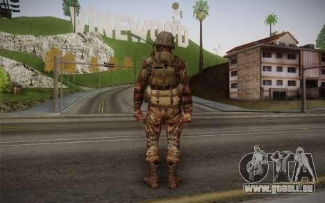 U.S. Soldier v1 pour GTA San Andreas deuxième écran