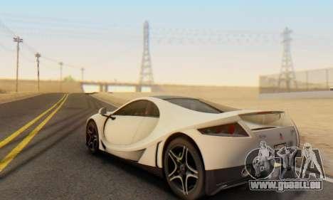 GTA Spano 2014 IVF pour GTA San Andreas vue de côté