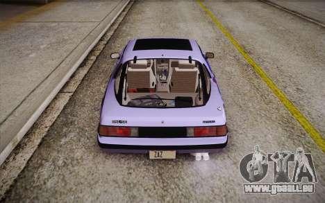 Mazda RX-7 GSL-SE 1985 HQLM für GTA San Andreas Innen