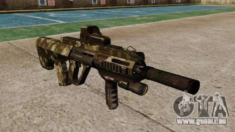 Machine Steyr AUG A3 Optique Hex pour GTA 4