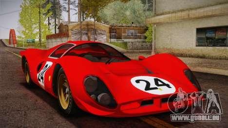 Ferrari 330 P4 1967 IVF für GTA San Andreas Räder