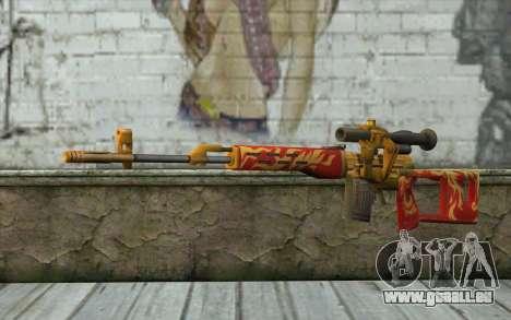 Le Dragunov Sniper Rifle (Point Blank) pour GTA San Andreas