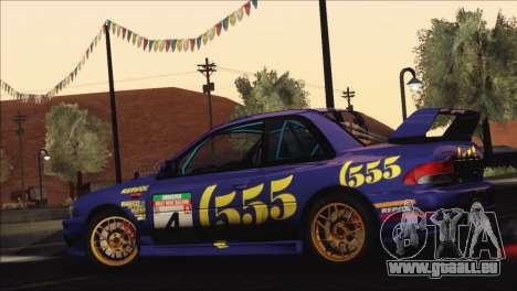 Subaru Impreza 22B STi 1998 für GTA San Andreas Räder
