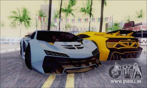 Zentorno GTA 5 V.1 für GTA San Andreas