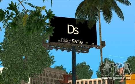 HQ Billiboards für GTA San Andreas