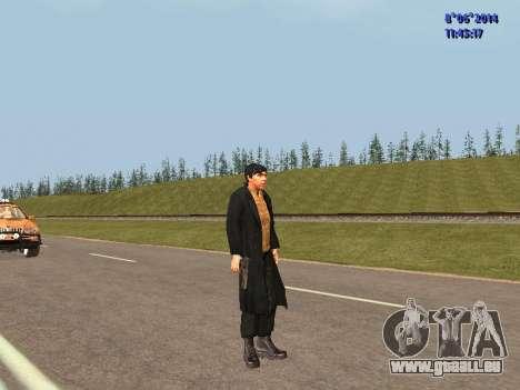 Danila du film Frère pour GTA San Andreas troisième écran