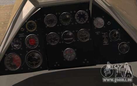 IAR 80 - Romania No 91 für GTA San Andreas rechten Ansicht