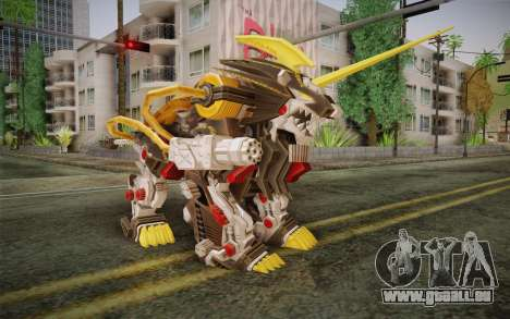 Energy Liger from Zoids pour GTA San Andreas