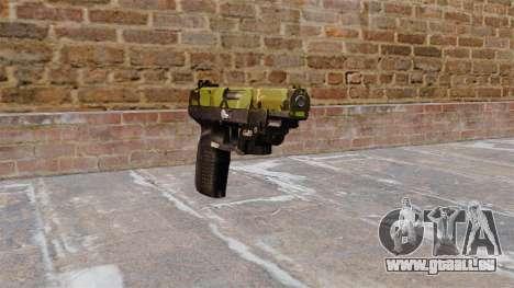 Pistolet FN Cinq à sept LAM Bois pour GTA 4