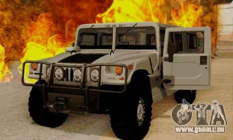 Hummer H1 Alpha für GTA San Andreas linke Ansicht
