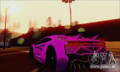 Zentorno GTA 5 V.1 für GTA San Andreas Motor