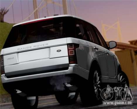 Range Rover Vogue 2014 für GTA San Andreas rechten Ansicht