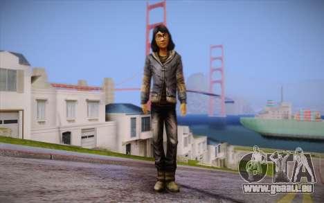 Sarah из The Walking Dead pour GTA San Andreas