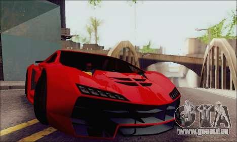 Zentorno GTA 5 V.1 für GTA San Andreas Seitenansicht