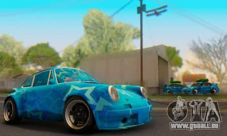 Porsche 911 Blue Star für GTA San Andreas
