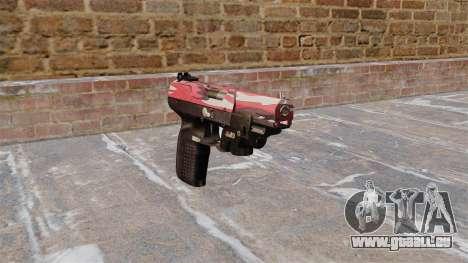 Pistole FN Five seveN LAM Red urban für GTA 4