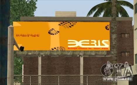 HQ Billiboards für GTA San Andreas her Screenshot